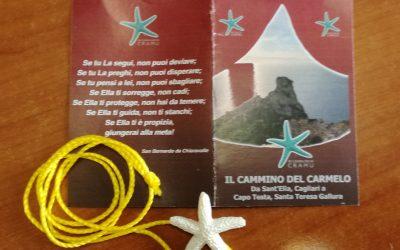 La Stella Maris del Cammino del Carmelo è arrivata a Finisterre, Galizia, Spagna.